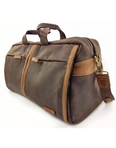 Фотография Дорожная винтажная кожаная сумка VATTO MK63 KR450.190