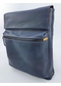 Сумка мужская синяя винтажная формата А4 VATTO MK68 KR600.190