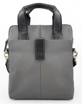 Мужская серая сумка - барсетка VATTO MK77 F13KAZ1
