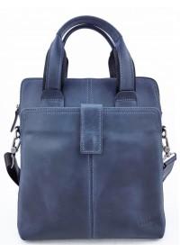 Мужская винтажная синяя сумка - барсетка VATTO MK77 KR600