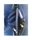 Фотография Мужская винтажная синяя сумка - барсетка VATTO MK77 KR600