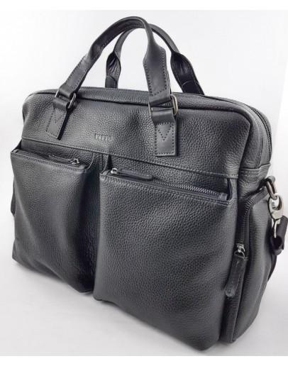 Фотография Черная мужская вместительная сумка VATTO MK84 F8KAZ1