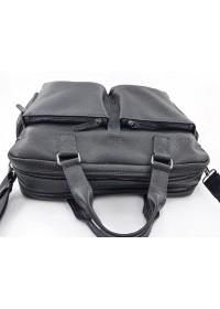 Черная мужская вместительная сумка VATTO MK84 F8KAZ1