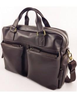 Коричневая мужская вместительная сумка VATTO MK84 KAZ400