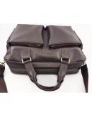 Фотография Коричневая мужская вместительная сумка VATTO MK84 KAZ400