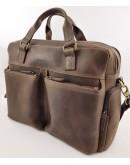 Фотография Коричневая винтажная мужская вместительная сумка VATTO MK84 KR450