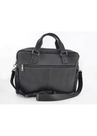 Черная винтажная мужская вместительная сумка VATTO MK84 KR670