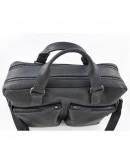 Фотография Черная винтажная мужская вместительная сумка VATTO MK84 KR670