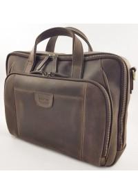 Мужская коричневая винтажная сумка для ноутбука и документов VATTO MK85 KR450