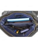 Фотография Большая мужская кожаная сумка на плечо VATTO MK89 F8KAZ1