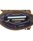 Фотография Большая коричневая кожаная винтажная сумка VATTO MK89 KR450
