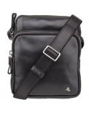 Фотография Мужская небольшая черная сумка через плечо Visconti ML40 Riley (Black)