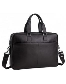 Черная мужская сумка повседневная M2164A