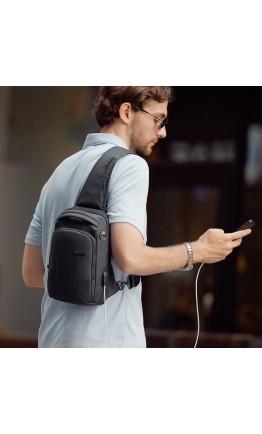 Рюкзак на одну шлейку Mark Ryden Mini Infiniti MR7008 Black