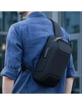 Черный рюкзак слинг на одну шлейку Mark Ryden Mini Odyssey MR7116 Black
