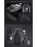 Фотография Серый рюкзак слинг на одну шлейку Mark Ryden Mini Odyssey MR7116 Gray
