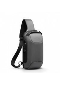 Серый рюкзак слинг на одну шлейку Mark Ryden Mini Odyssey MR7116 Gray