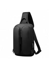 Черный мужской рюкзак - слинг Mark Ryden Link MR7219