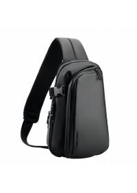 Черный тканевый рюкзак слинг Mark Ryden Tucker MR7908