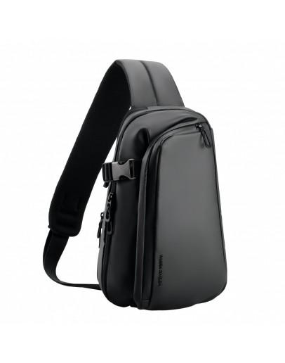 Фотография Черный тканевый рюкзак слинг Mark Ryden Tucker MR7908