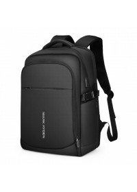 Черный вместительный мужской рюкзак Mark Ryden Jasper MR9191 Three Pocket