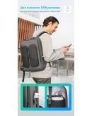 Фотография Серый мужской рюкзак Mark Ryden MR9222 Gray