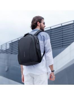 Черный мужской удобный рюкзак Mark Ryden Bastion MR9380