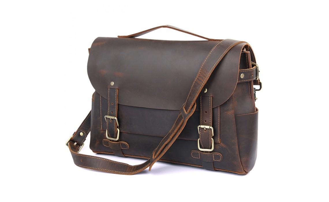 Мужская кожаная сумка для документов. Выбираем правильно
