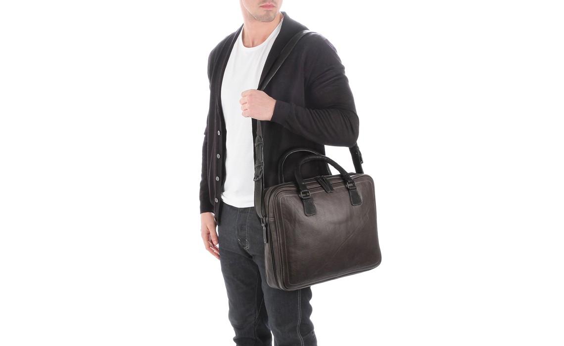 Кожаная мужская сумка для ноутбука. Правила выбора