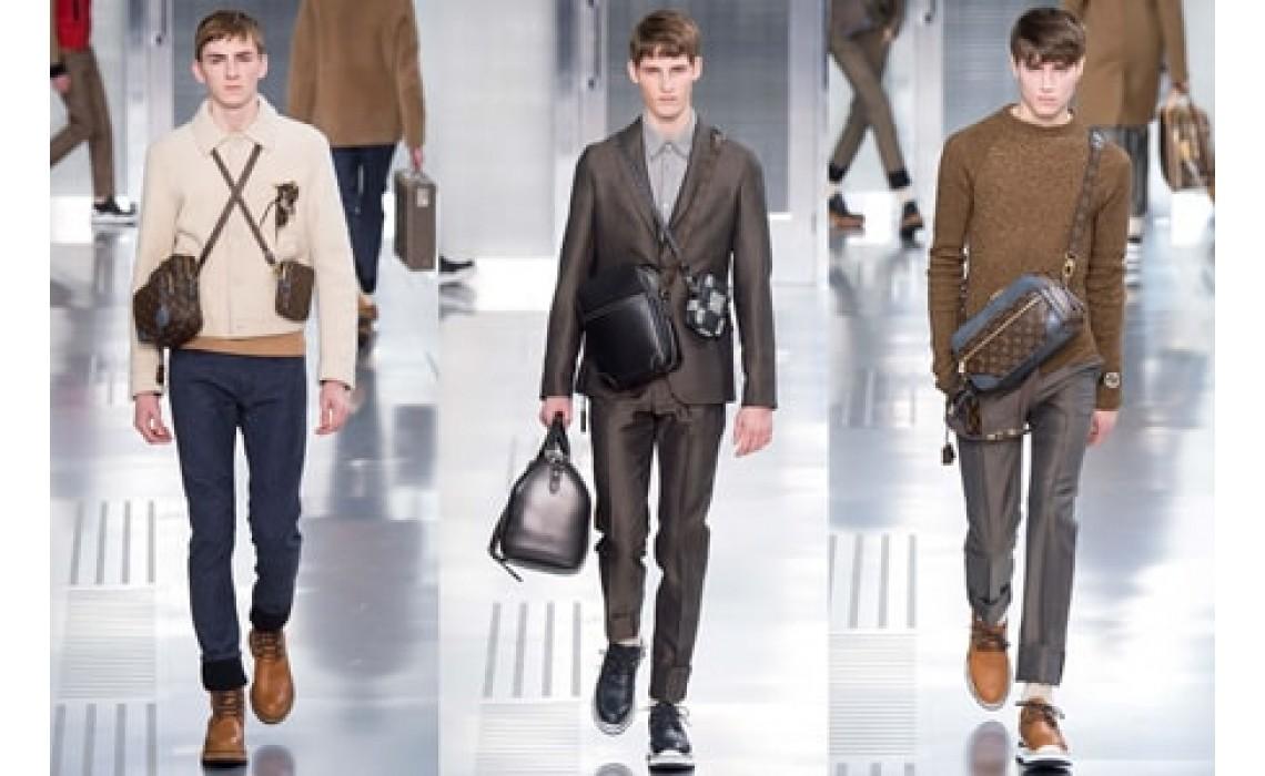 Кожаные сумки через плечо - классика неподвласная времени