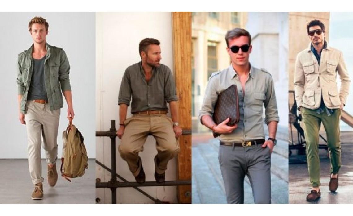 Модные тренды лета в мужском гардеробе.