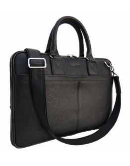 Кожаная мягкая сумка для ноутбука и документов Newery N1002FA