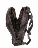 Фотография Кожаный мужской коричневый рюкзак Newery N1003GC