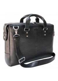 Удобная черная мужская деловая сумка Newery N1025GA