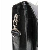 Черная кожаная мужская сумка для ноута и документов NEWERY N1930GA