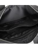 Фотография Черная кожаная мужская сумка для ноута и документов NEWERY N1930GA