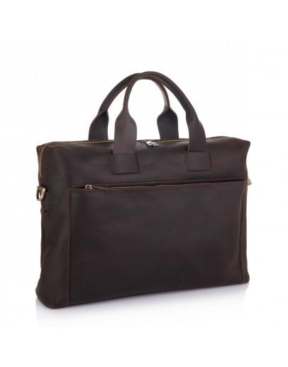 Фотография Коричневая винтажная деловая мужская сумка NEWERY N1930KC