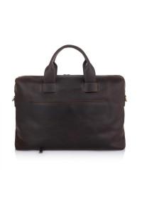 Коричневая винтажная деловая мужская сумка NEWERY N1930KC