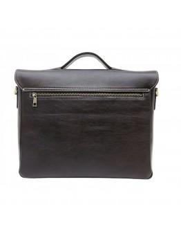 Коричневая мужская деловая сумка - портфель Newery N1960GC