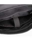 Фотография Большая винтажная черная сумка на плечо Newery N1960KA