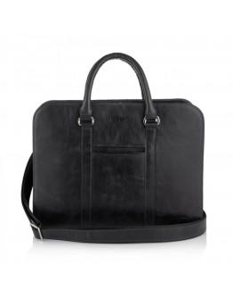 Черная деловая сумка для документов Newery N1992NA