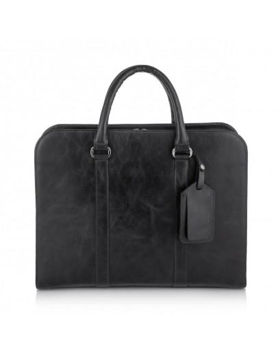 Фотография Черная деловая сумка для документов Newery N1992NA