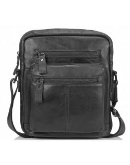 Мужская черная сумка - барсетка N2-8017A