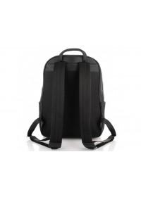 Черный мужской кожаный рюкзак Tiding Bag N2-191117A