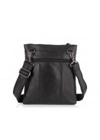 Черный мужской кожаный планшет Tiding Bag N2-8011A