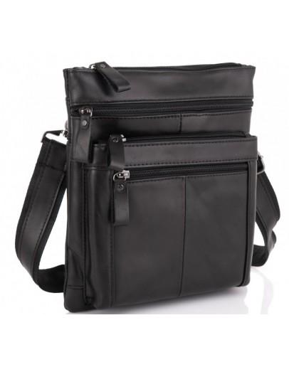 Фотография Черный мужской кожаный планшет Tiding Bag N2-8011A