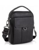 Фотография Необычная черная кожаная сумка - барсетка Tiding Bag N2-8013A