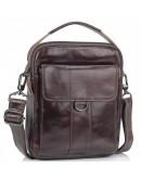 Фотография Коричневая сумка  - барсетка кожаная Tiding Bag N2-8013DB