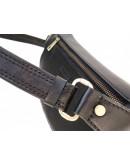 Фотография Кожаная черная сумка на пояс Newery N40298GA