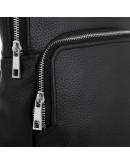 Фотография Черный кожаный мужской слинг Newery N41719FA